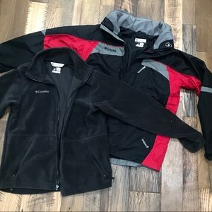 Columbia 2pc Winter Coat Boys 18-20